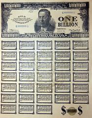 Fake US Bonds