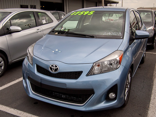 Powder Blue 2012 Yaris