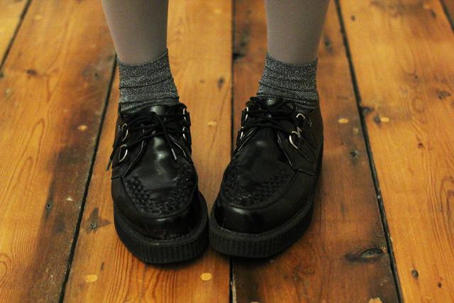 tuk creepers tabio socks