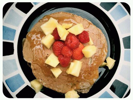 2_ pancakes
