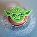Cupcake de Yoda