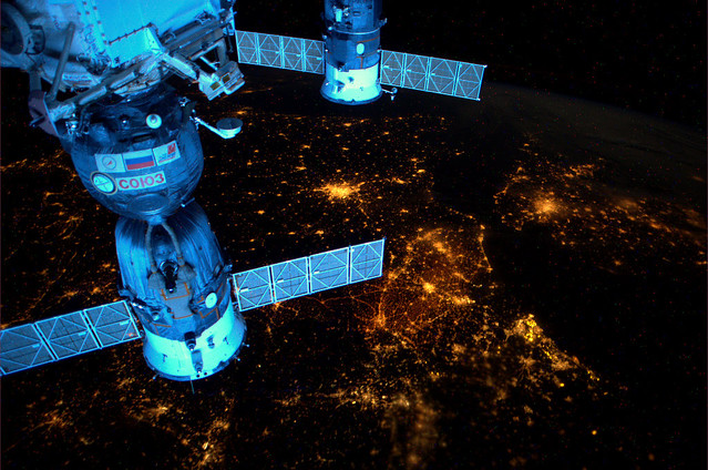 Europe and its nightlights, seen from the ISS