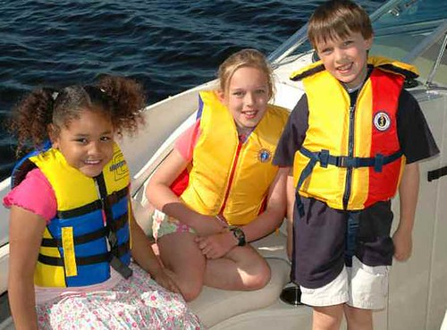 Kids with Life Jackets
