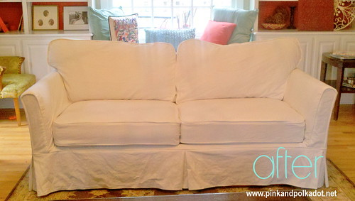 after slipcover