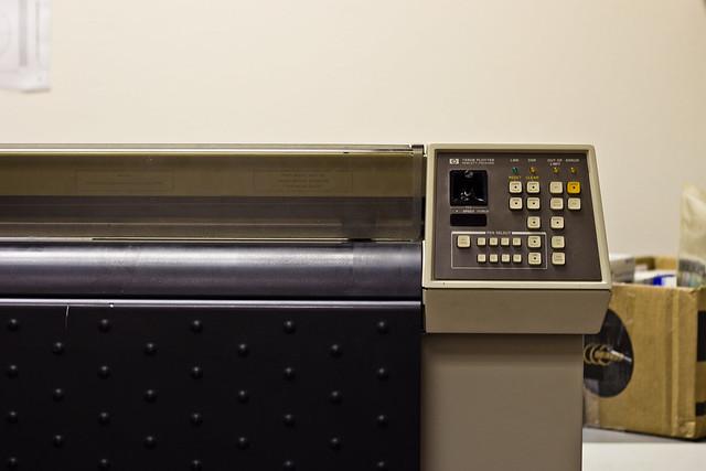 HP 7580B Plotter