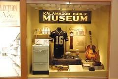 Display of past items --  Kalamazoo Valley Museum 126