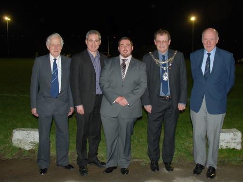 George Leach, Greg Mulholland, Steve Robinson, Nigel Francis & John Churchman