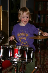 Girls Rock drummer