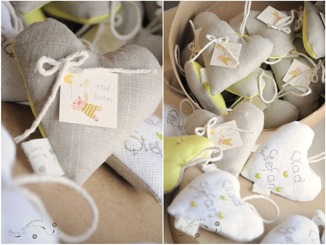 marturii botez personalizate ( baby shower favors )