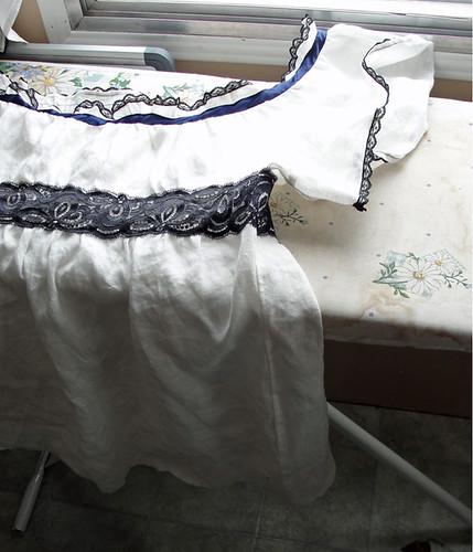 Linen Peasant top