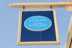 Photo of John Martin-Harvey blue plaque