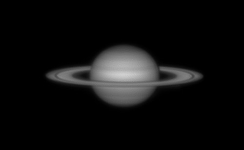 Red filter Saturn from 2008 - 120208 : 22-54-23 by Mick Hyde