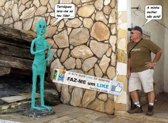 resposta caso encontre um extraterrestre