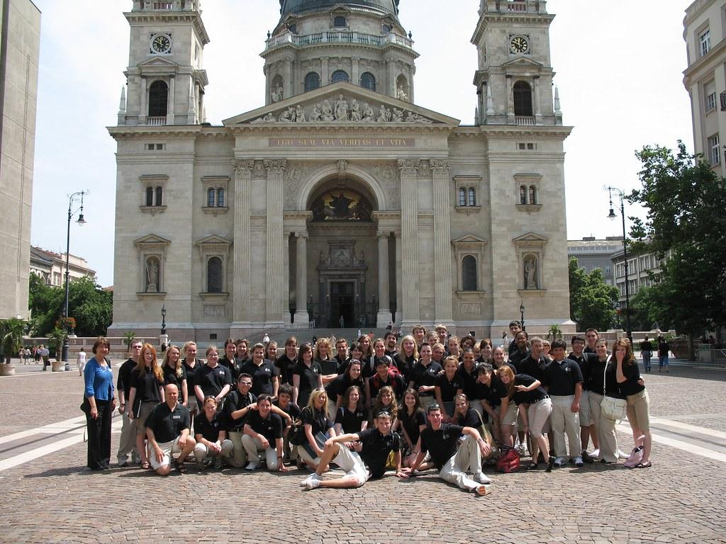 Tacoma Youth Chorus at St. Stephen's Basilica in Budapest, Hungary