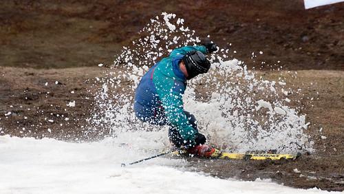 ski skiing stopping pentathlon snowspray berkshirehighlandspentathlon2012