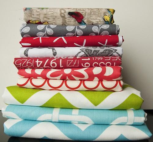 Fabric.com Fabric Orders 1 & 2