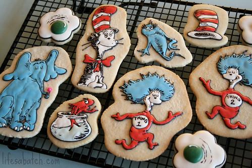 Dr. Seuss Cookies.