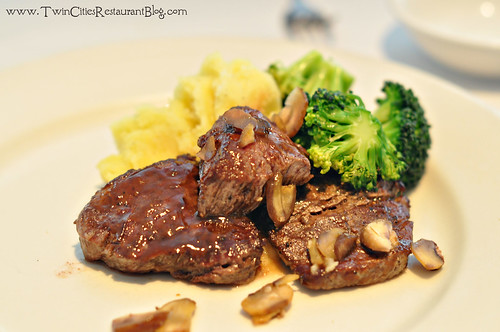 Filet Medallions at Ursula's Wine Bar ~ White Bear Lake, MN