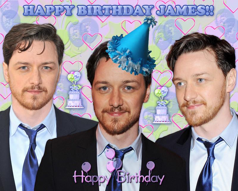 James Cumpleaños 2012