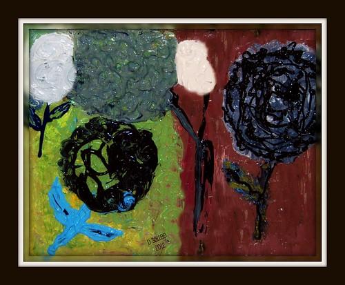 Pop Flowers by BeverlyDiane