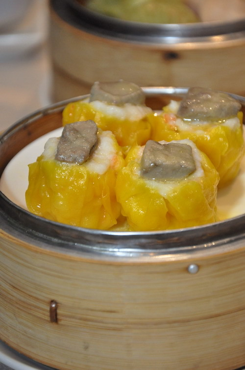 Siew Mai with Goose Liver