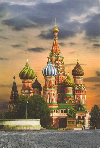 St. Basil's Cathedal-Russia