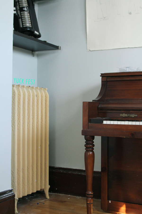 Before Vanilla Cream Radiator