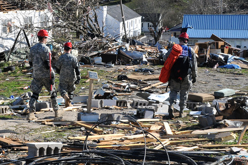 Kentucky tornado relief