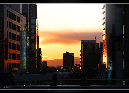 sunset japan tokyo dusk nippon saitama nihon omiya tokio