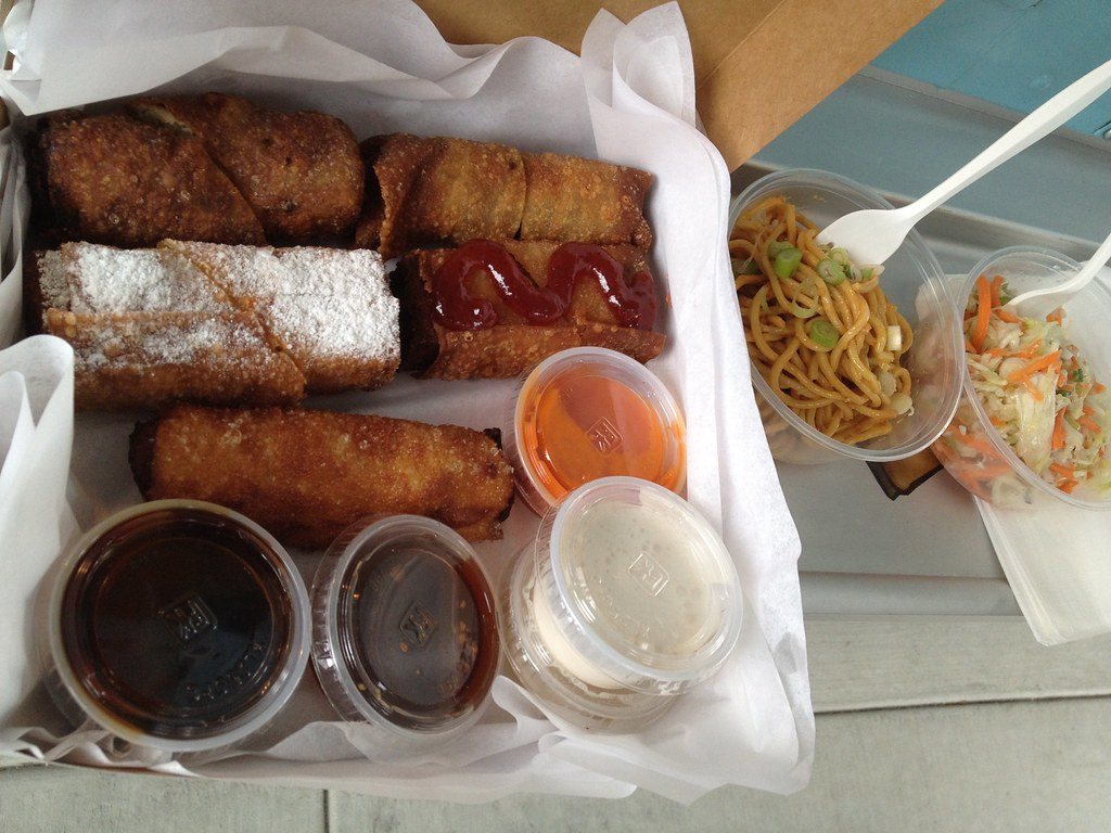 M.O.Eggrolls and sides