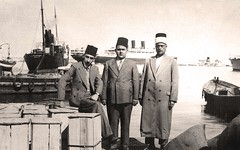 أمام الباخرة مسافرين إلى مارسيليا - 1936