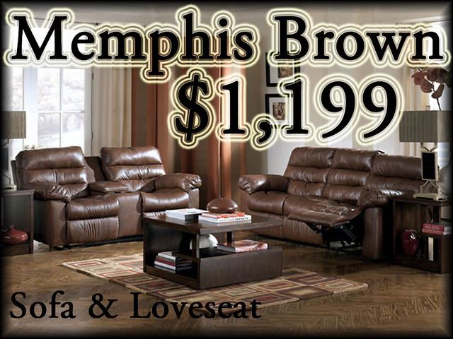 94400MemphisBrownSet$1199