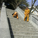 SHAOLIN TEMPLE INDIA SHIFU KANISHKA TRAINING UNDER SHI YAN FANG IN SHAOLIN TEMPLE CHINA WWW.SHAOLININDIA.COM Shaolin Kung Fu India