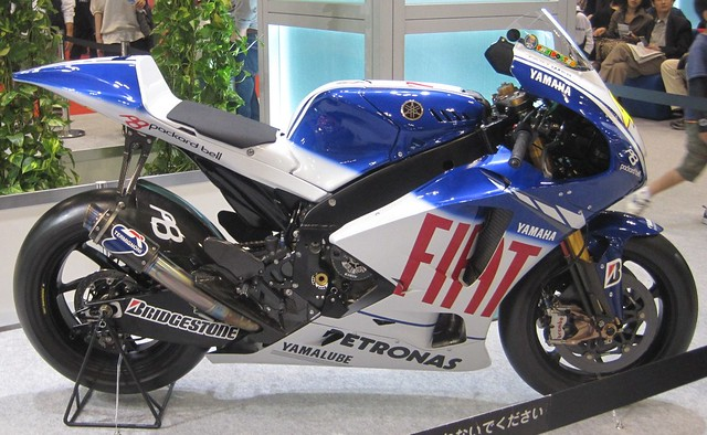 2009 YAMAHA YZR-M1 (OWS8) #46 Valentino Rossi