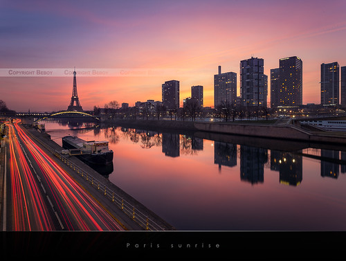 Paris sunrise | EXPLORED #1 |