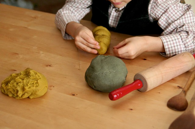peaceful play-dough