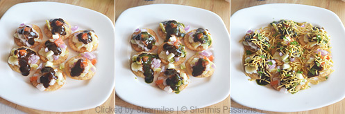 Sev Puri Recipe - Step2