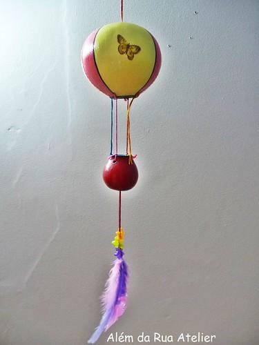 Balão lindo que ganhei