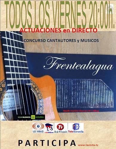 Se amplia el PLAZO CONCURSO CANTAUTORES y MUSICOS by LaVisitaComunicacion