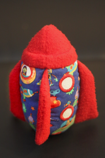 Plush Rocketship
