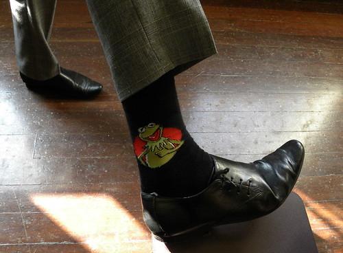 Kermit socks