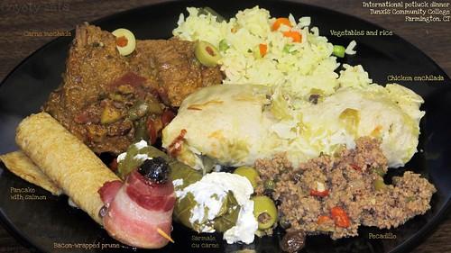 International potluck dinner by Coyoty