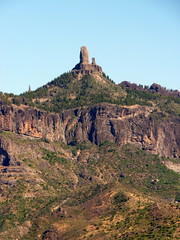 Gran Canaria - Roque Nublo in the Winter, Seen from Arternara
