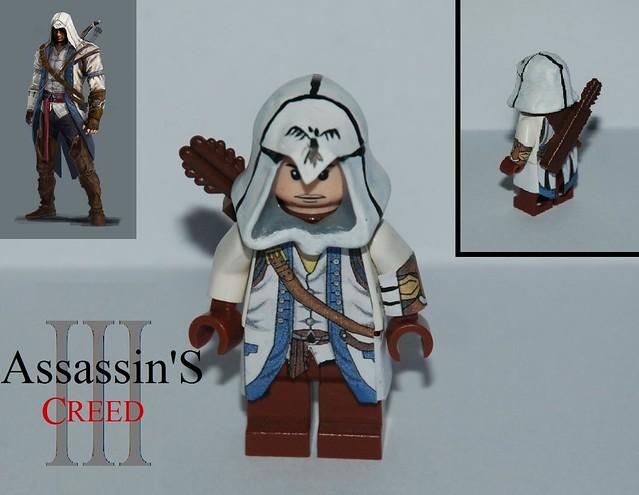 Как сделать костюм ассасина из лего видео