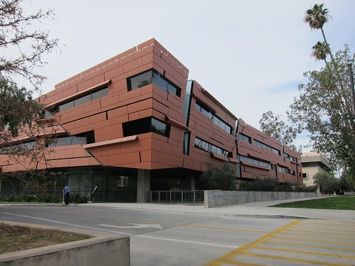 Astrophysics building at CalTech