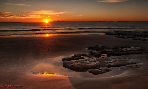 seascape sunrise peaceful longbay ringexcellence