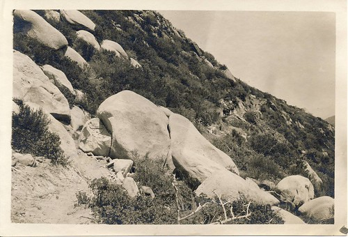 Ocean View Trail, 1923 (Eastward)