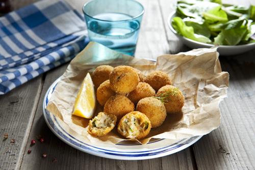 Polpette di pesce & crostacei al limone 01
