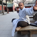 Shaolin Temple India Head Kanishka Sharma at Shaolin Temple China 2012