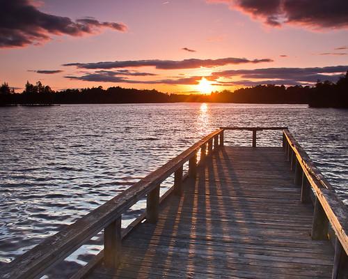sunset horiconlake lakehustnj